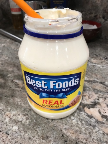 See- REAL mayonnaise..not low-fat